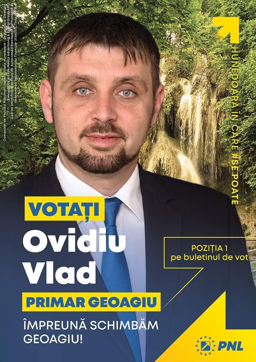 Comandat de Partidul Naţional Liberal – Filiala Hunedoara CUI 21200012